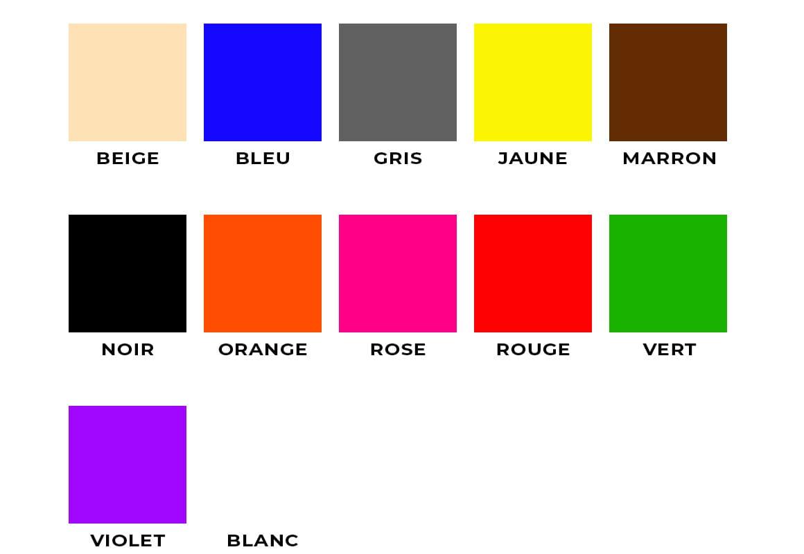 Calibrage de couleur pour les toiles rendu ecran